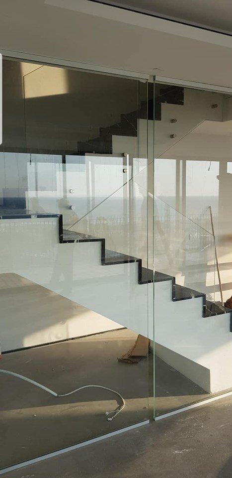 מעקה מדרגות 2