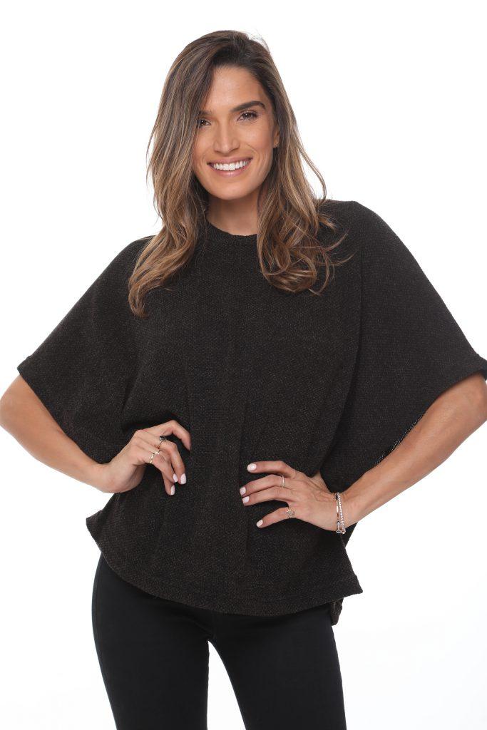 חולצה אנדריה סריג שחור 3