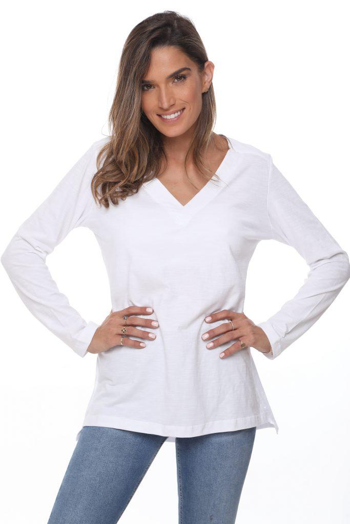 חולצה לימה לבנה 1