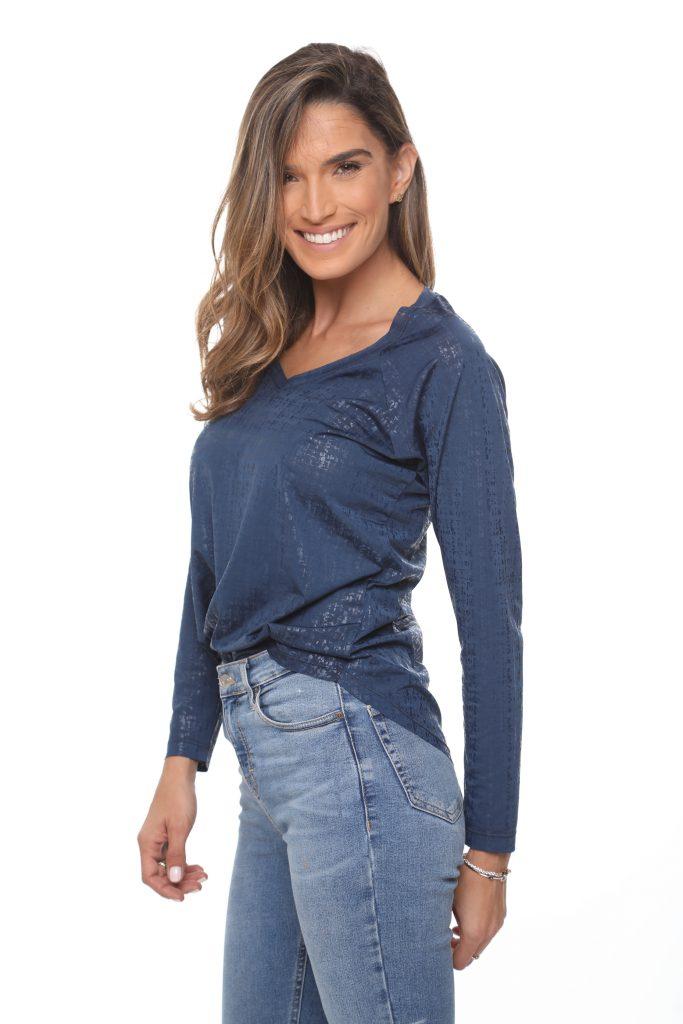 חולצה מעיין כחולה 3