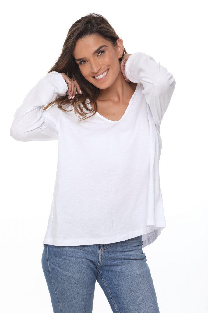 חולצה נופים לבנה 2